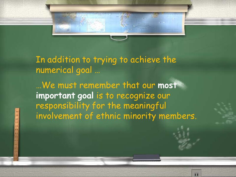 We need a commitment throughout all levels of the organization for this to be successful.