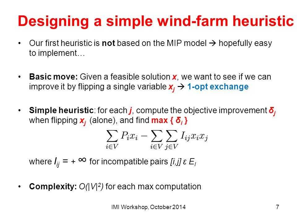 An alternative MIP linearization A linearized model with linear n.