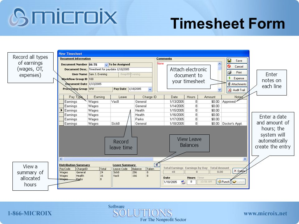 Group Timesheet Group Timesheet allows each department to delegate one person to create a timesheet for all employees within the respective department.