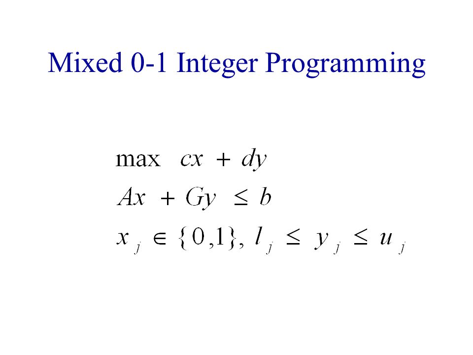 Why Use MIP .