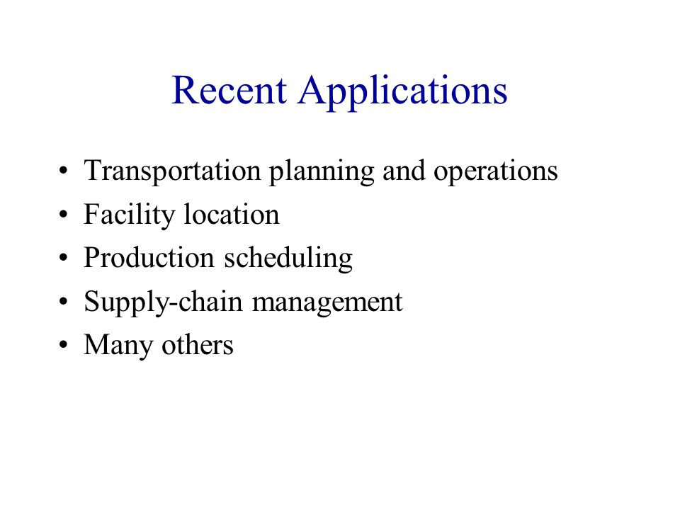 Transportation planning and operations Aircraft arrival slot allocation at American.