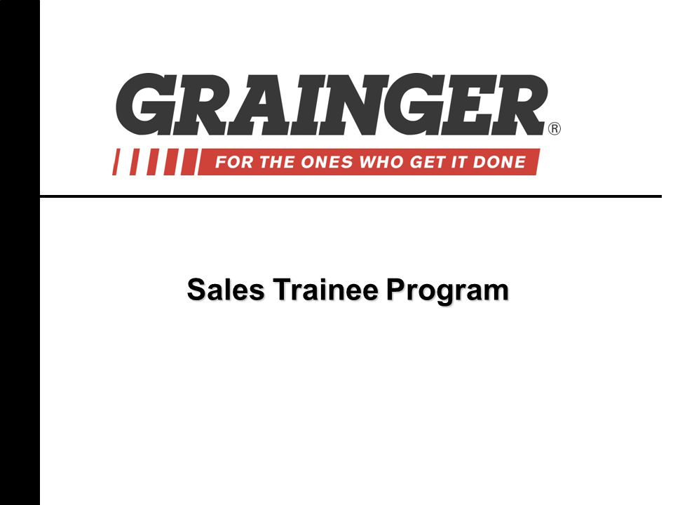 Sales Trainee Program