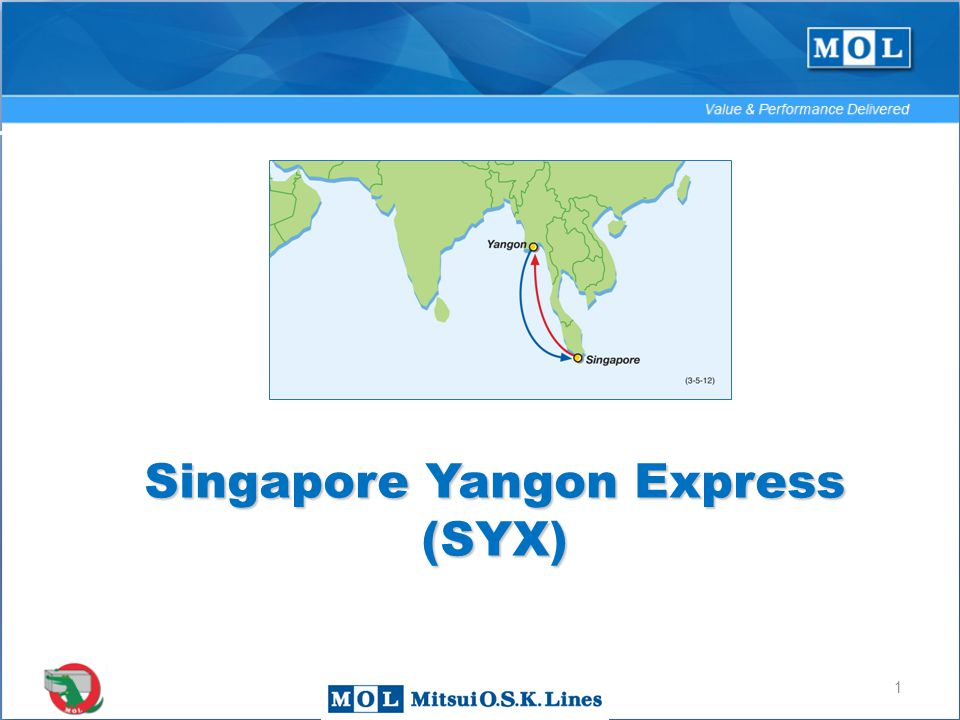 1 Singapore Yangon Express (SYX) 1