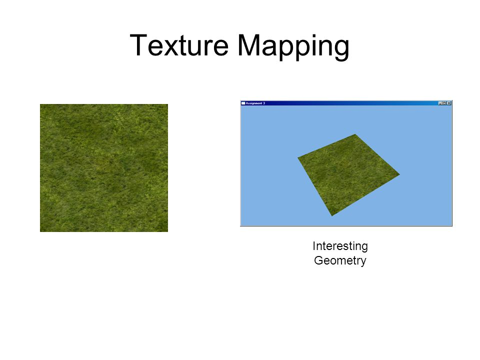 Texture Mapping Interesting Geometry