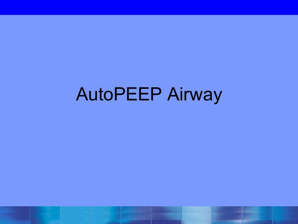 AutoPEEP Airway