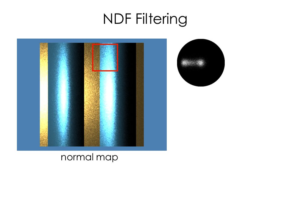 NDF Filtering normal map
