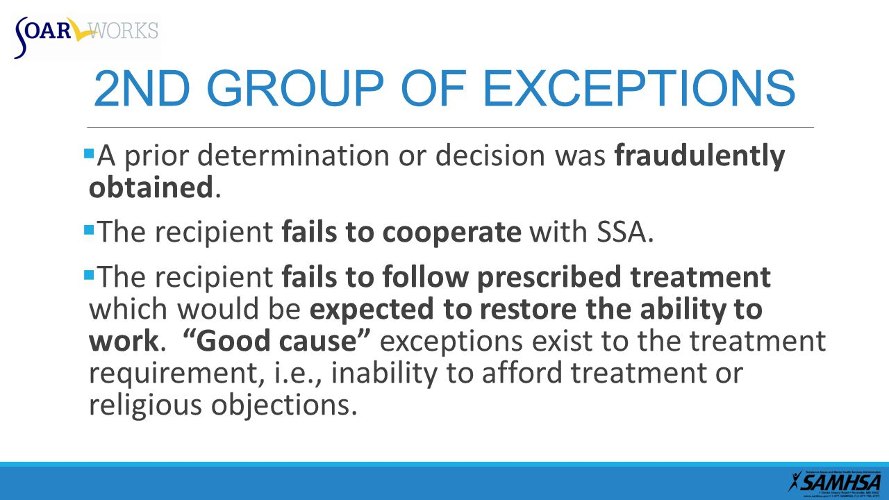 2ND GROUP OF EXCEPTIONS  A prior determination or decision was fraudulently obtained.