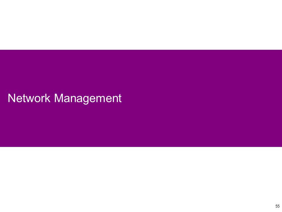 55 Network Management