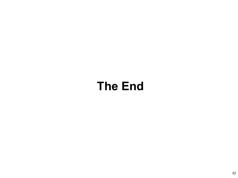 62 The End