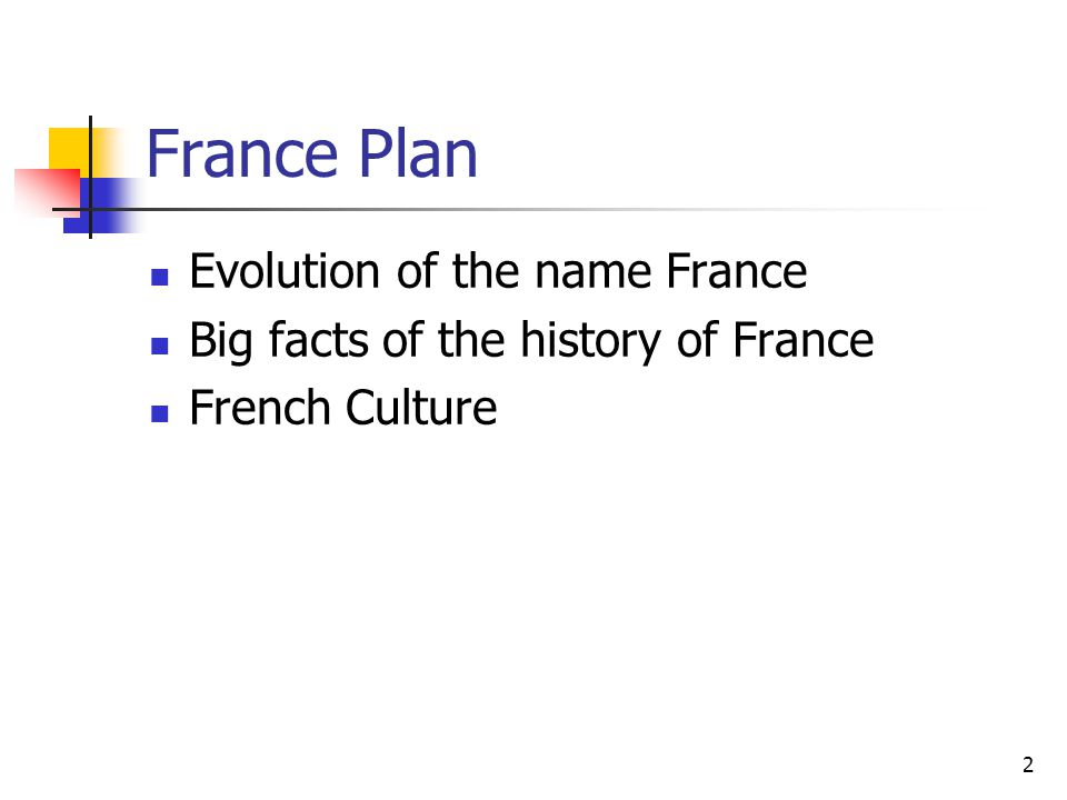 3 Evolution of the name France « Francia » birth certificate of the French Nation