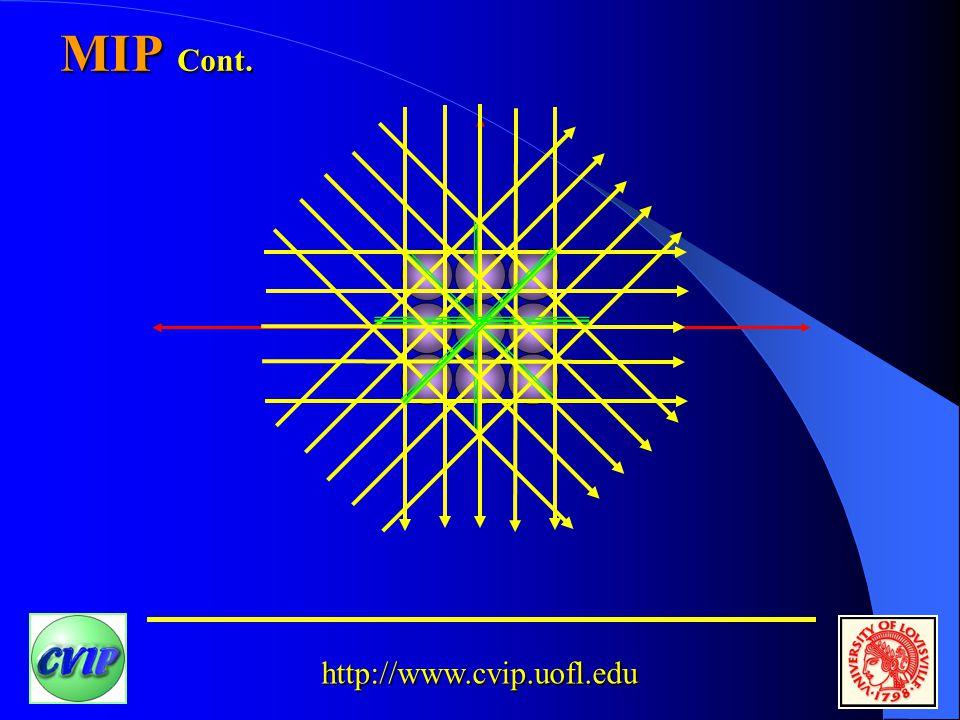 http://www.cvip.uofl.edu MIP Cont.