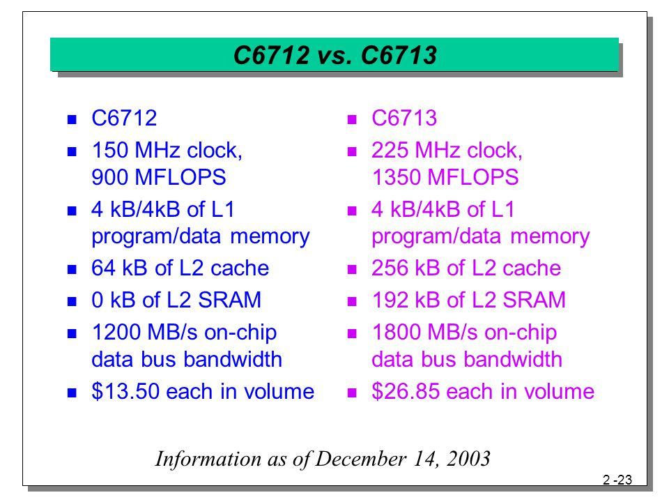 2 -23 C6712 vs.