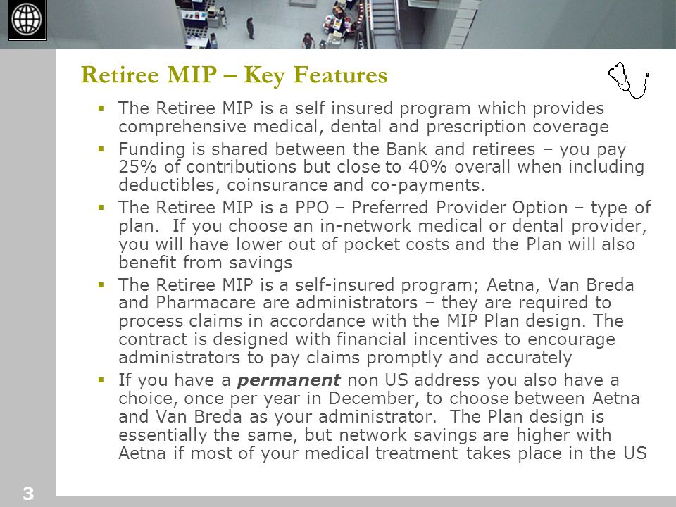 4 Retiree MIP - recent changes  Recent Changes:  Increased overall contributions May 1, 2006 – 10.8% (third increase in three years – in aggregate 30% increase)  Implemented three tier premium based on Single, Dual and Family coverage - (600 plus family coverages )  Last increase in deductible and co-pay was Jan 1, 2003  Effective Jan 1, 2007 increase deductibles $50 for Medical Dental and Rx  Increase out-of-pocket $250 for Medical and Rx  History of Changes since 1991:  Average annual rate increase of 5.2% over the period 1991- 2007 and 7.7% over the more recent period 2000-2005