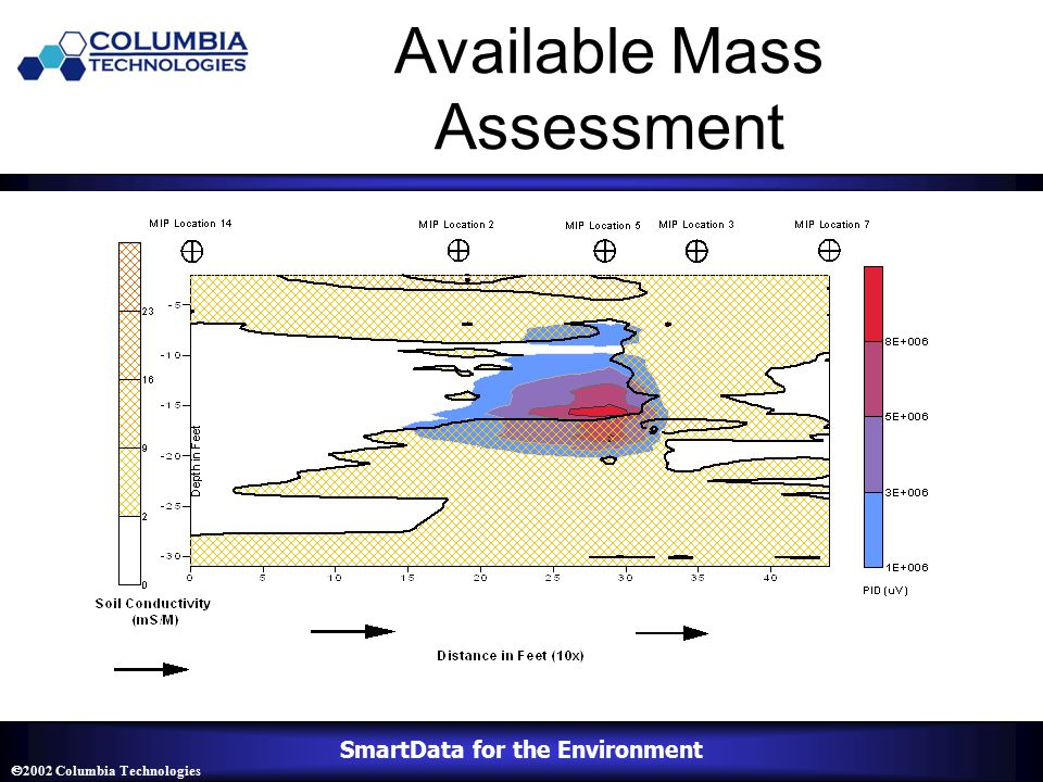 SmartData for the Environment  2002 Columbia Technologies Available Mass Assessment