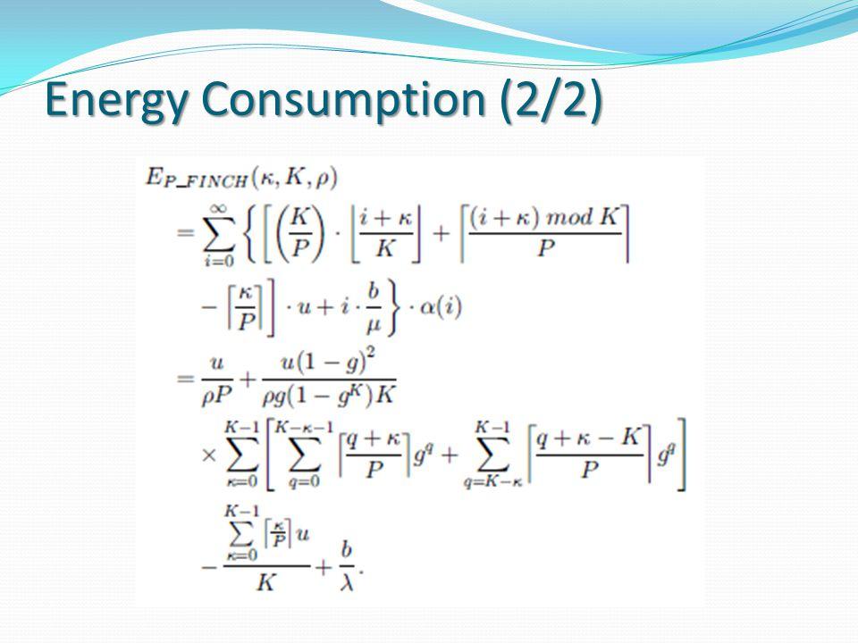 Energy Consumption (2/2)