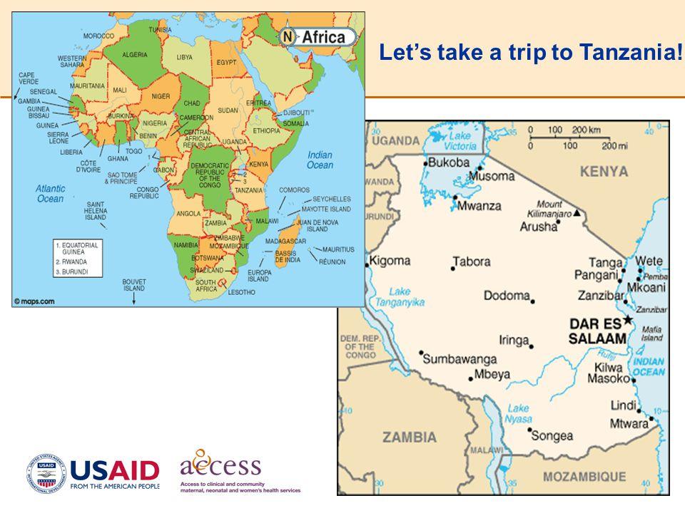 31 Let's take a trip to Tanzania!