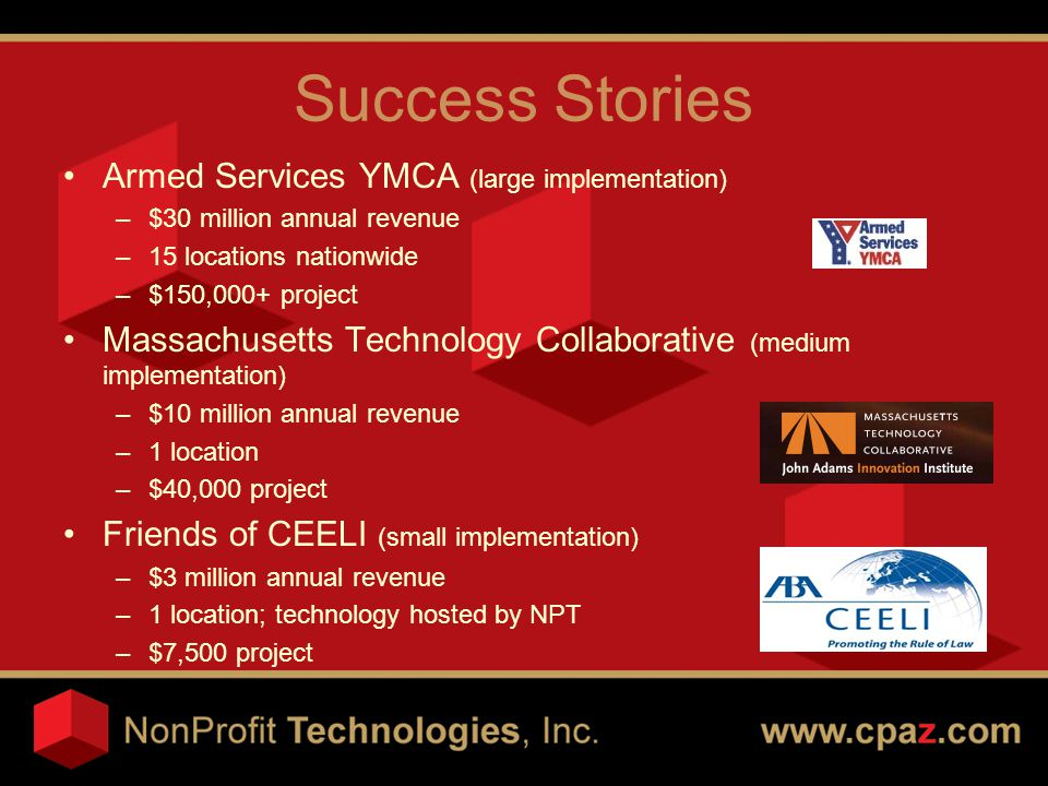 Our Commitment to You Industry experience & expertise Financial stability & proven track record Comprehensive technical support Trusted partner/peace of mind Your project success!