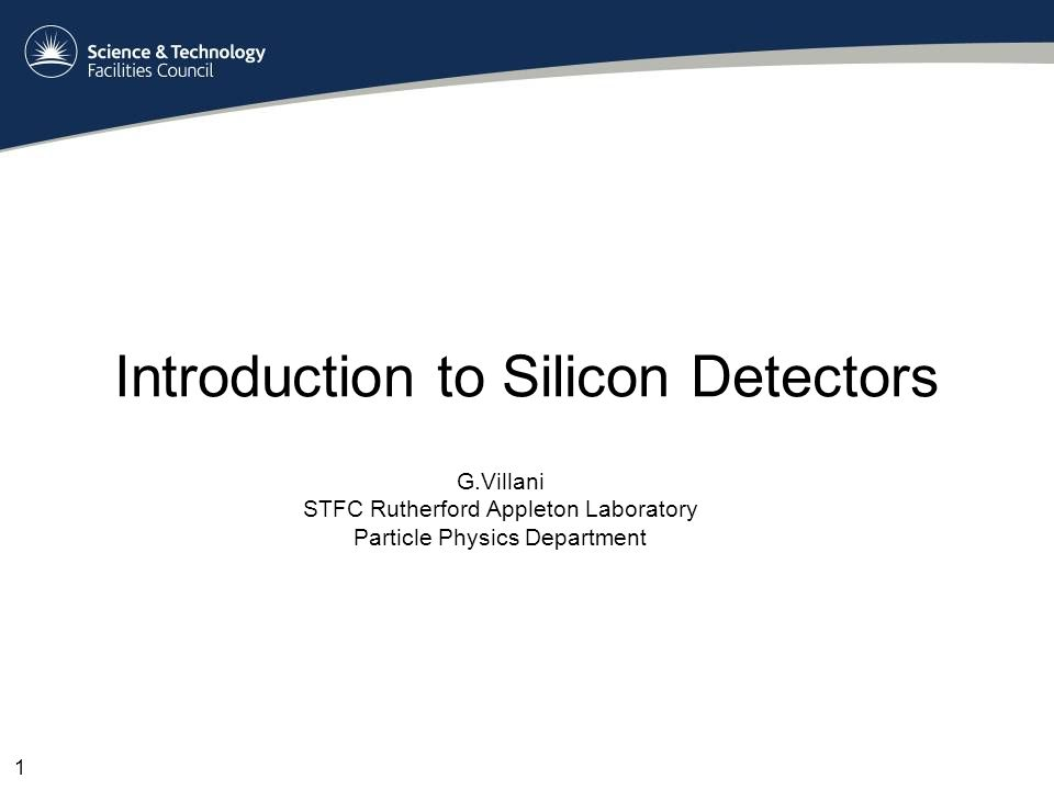 Outlook Introduction to physics of Si and detection Examples of detectors Conclusions 2