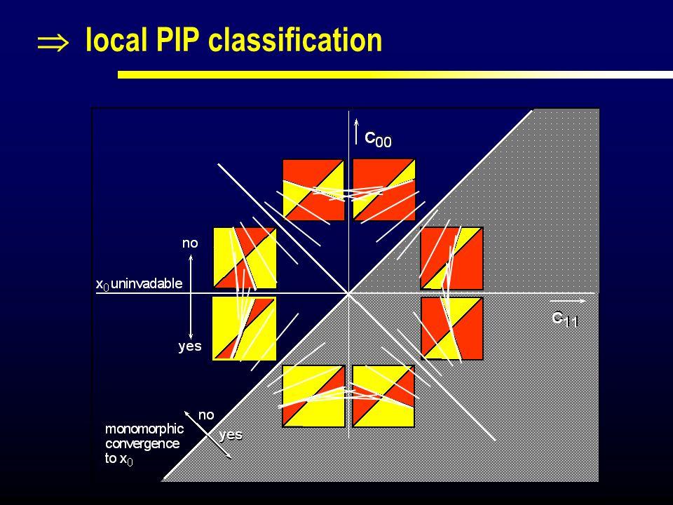  local PIP classification