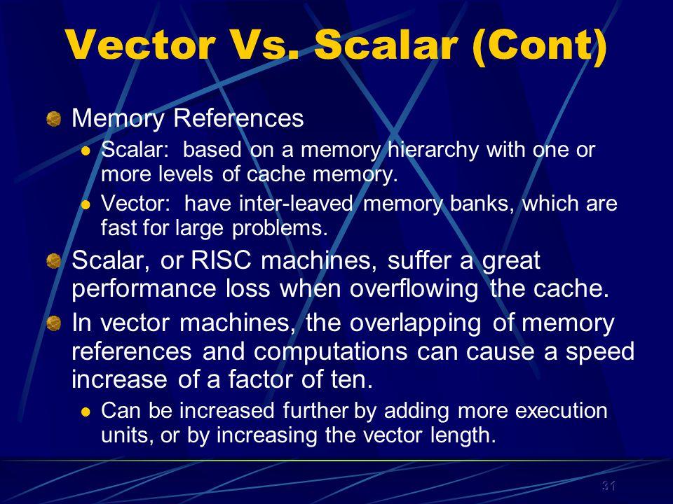 31 Vector Vs.