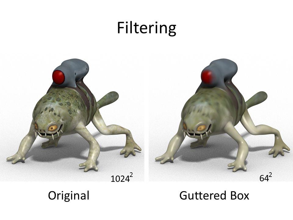 Filtering OriginalGuttered Box 64 2 1024 2