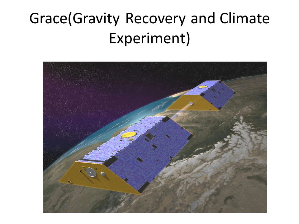 Grace(Gravity Recovery and Climate Experiment)