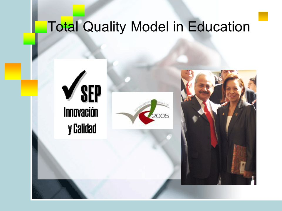 Total Quality Model in Education