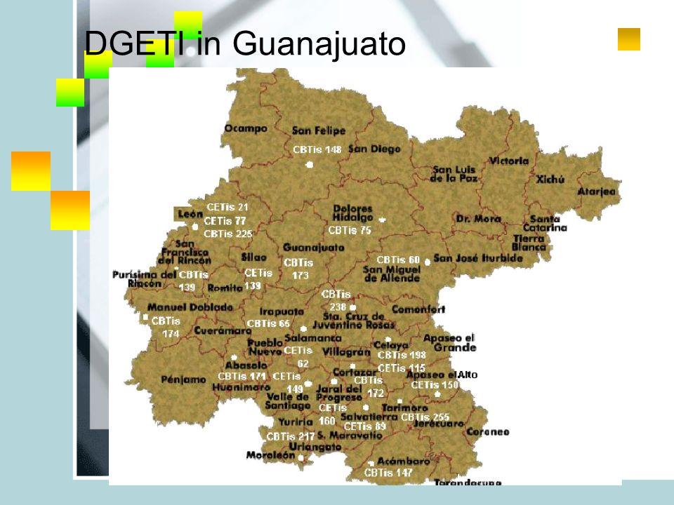 DGETI in Guanajuato