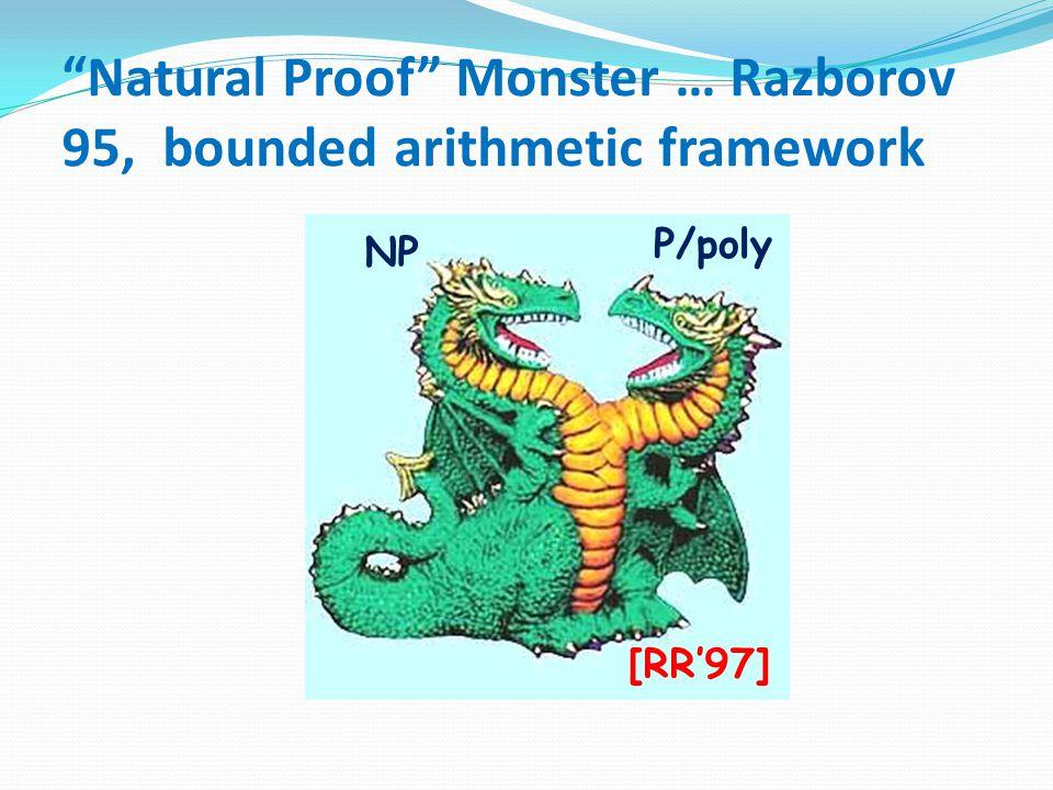 P  EXP P  ? NP BPP = ? P IP=PSPACE Algebrization ridge Relativization gorge Thank you!
