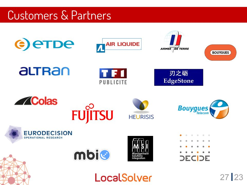 2723 Customers & Partners