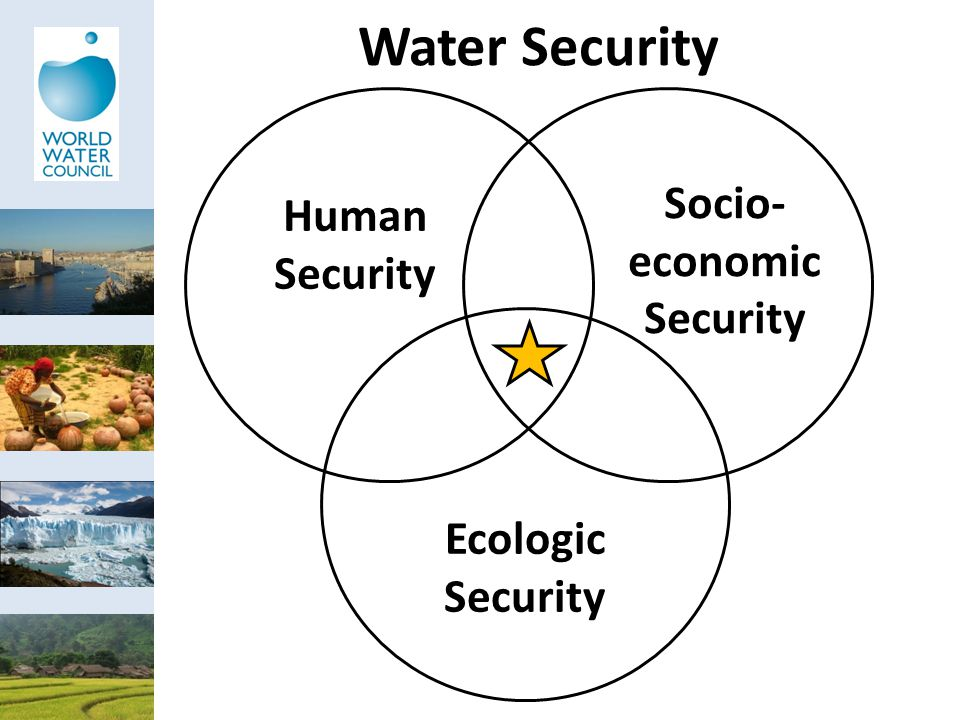 Water Security Human Security Socio- economic Security Ecologic Security
