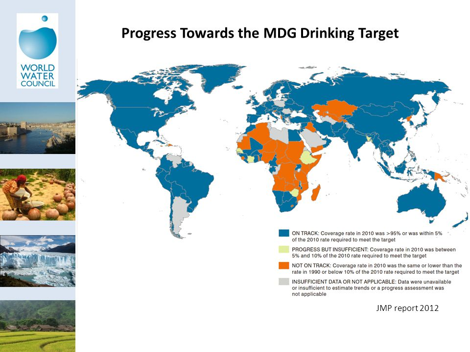 Progress Towards the MDG Drinking Target JMP report 2012