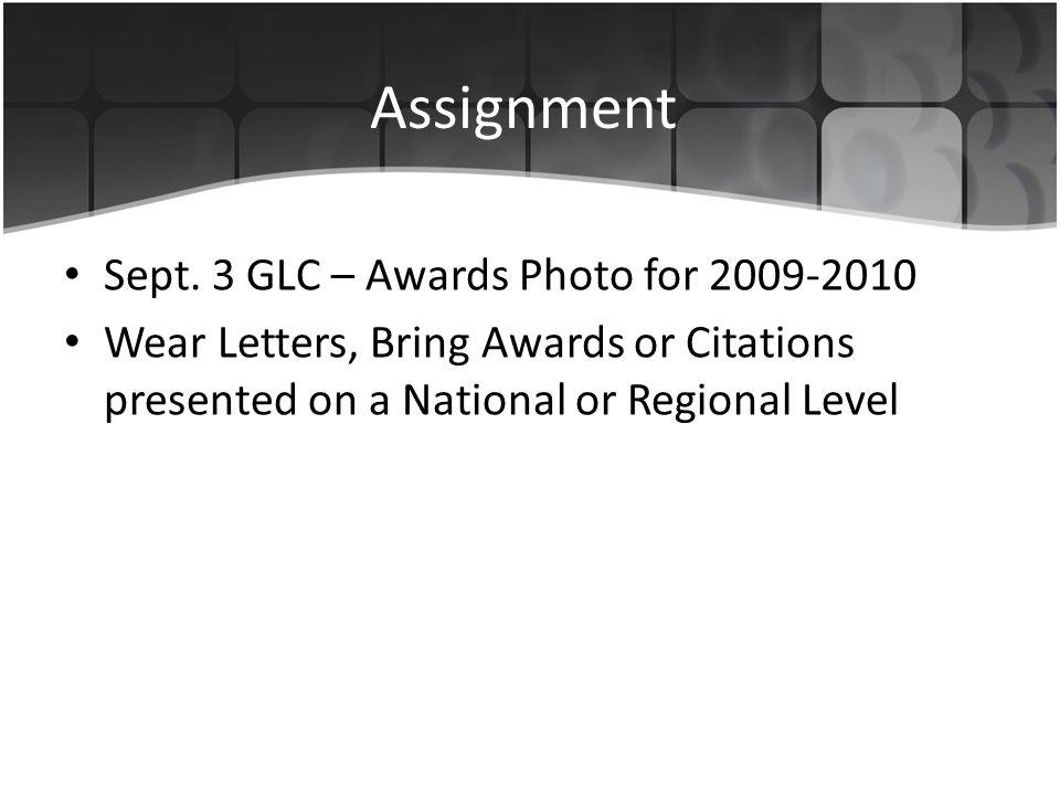 Assignment Sept.