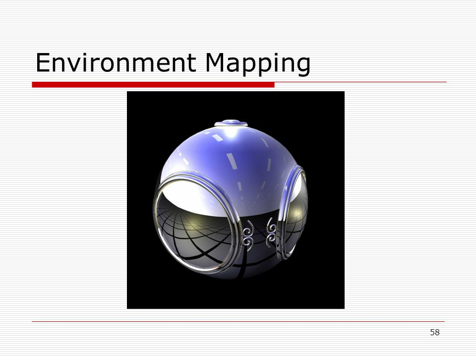 Environment Mapping 58