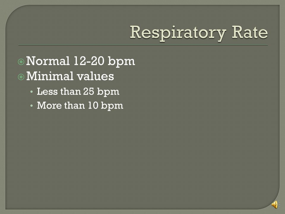 You should have four values Respiratory rate Minute ventilation Vital capacity Negative inspiratory force  From these you can calculate Tidal volum