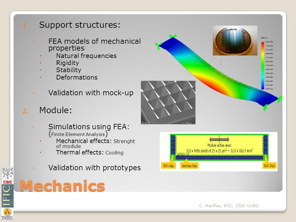 Mechanics 1.
