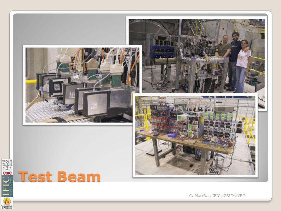 Test Beam C. Mariñas, IFIC, CSIC-UVEG