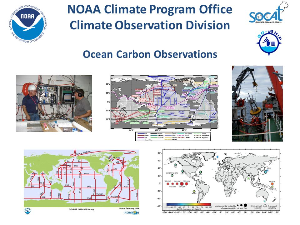 NOAA Climate Program Office Climate Observation Division Ocean Carbon Observations