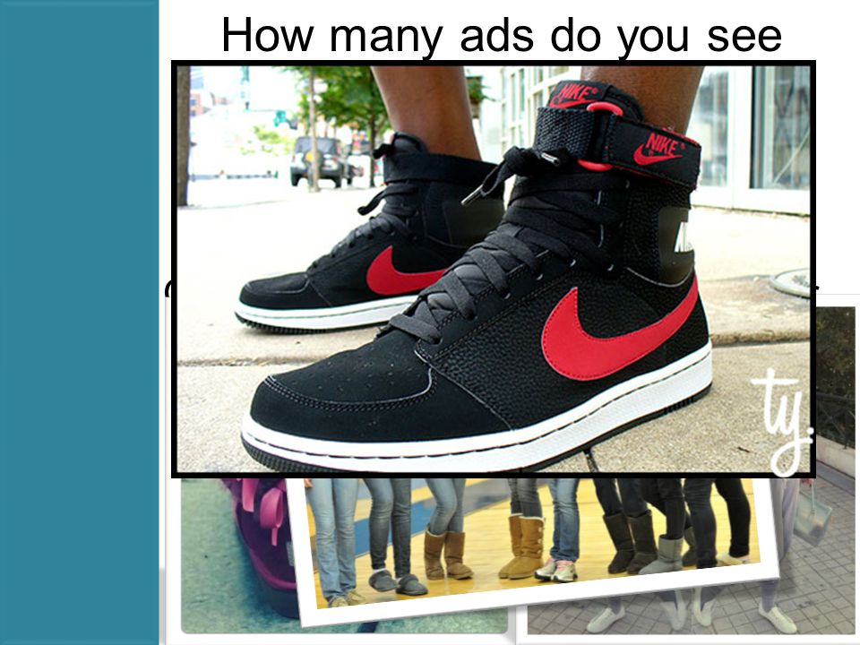 How many ads do you see everyday. 5,000 Companies spent $496 billion last year on advertising.