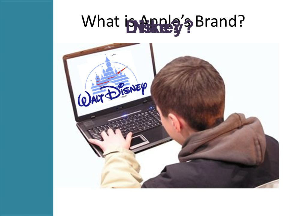 What is Apple's Brand? Disney?Nike?
