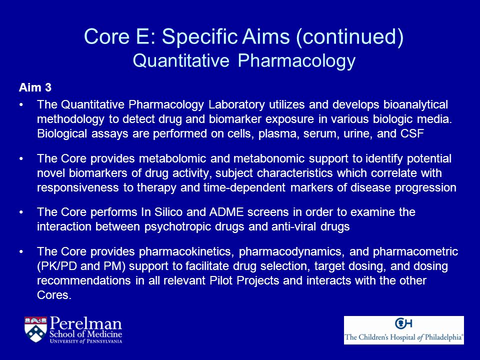 Core E: Specific Aims (continued) Neuroimaging and Neurobehavioral Characterization Aim 4 The Center for Neuroimaging in Psychiatry and the Brain Behavior Laboratory performs state of the art assessment of regional brain function in normative and clinical populations.