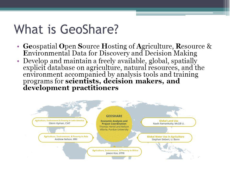 What is GeoShare.