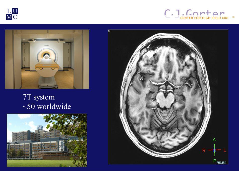 Why ultra-high field MRI.