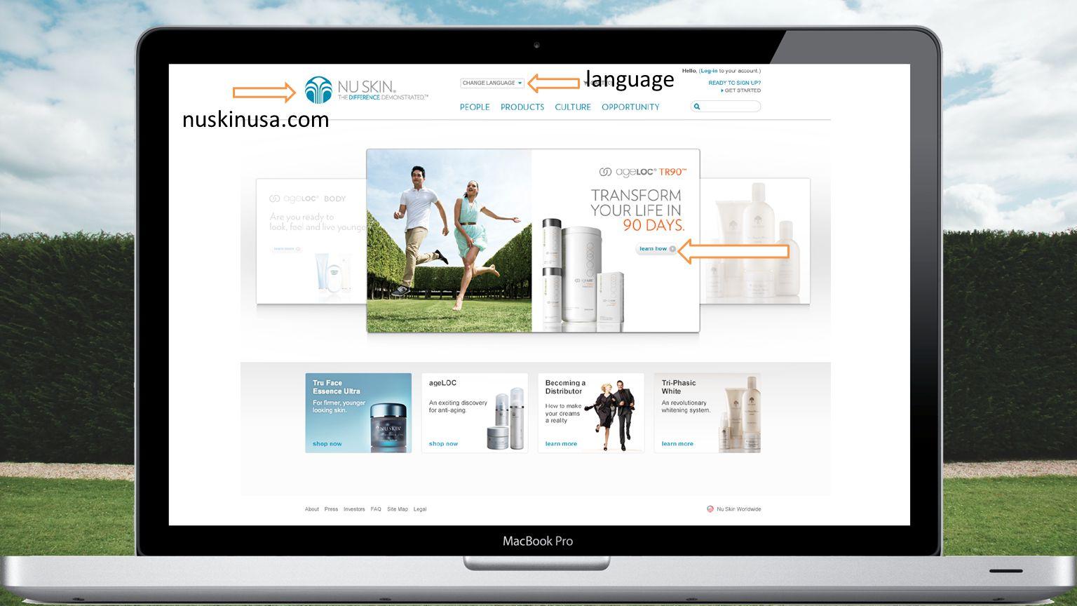 nuskinusa.com language