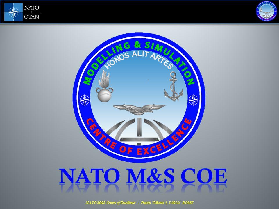 M&S COE - main activities in 2013