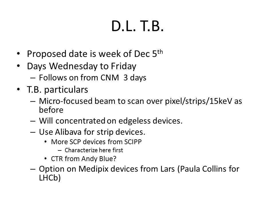 D.L. T.B.