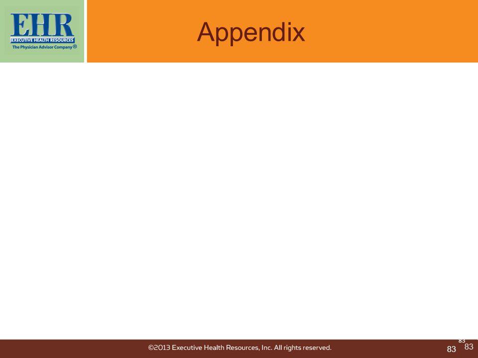 83 Appendix 83