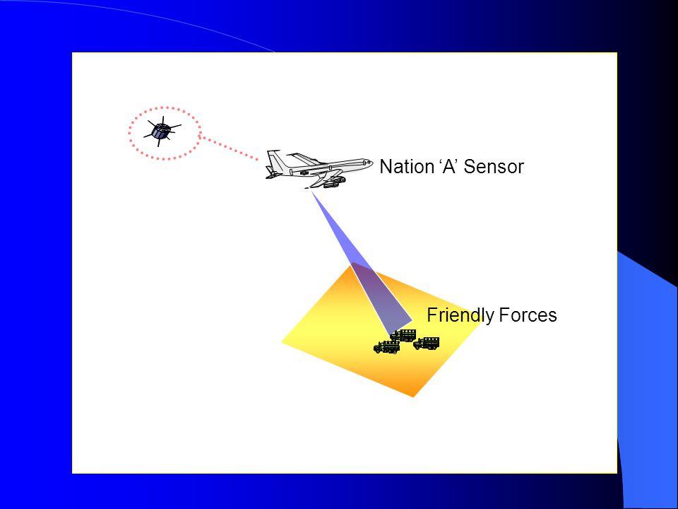 Friendly Forces Nation 'A' Sensor