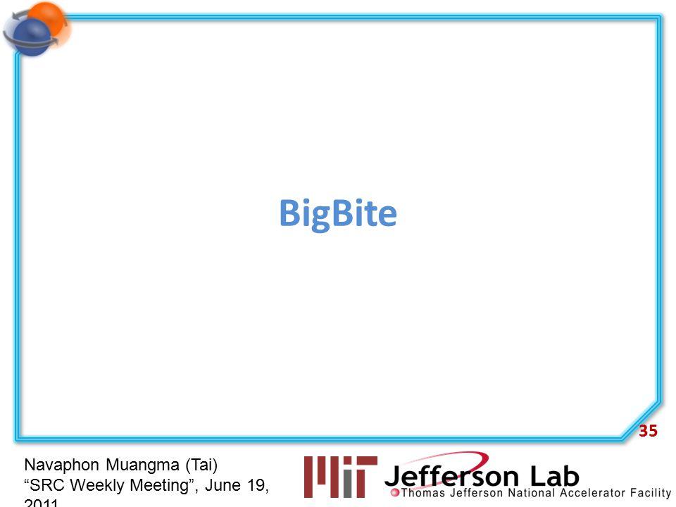 """Navaphon Muangma (Tai) """"SRC Weekly Meeting"""", June 19, 2011 BigBite 35"""