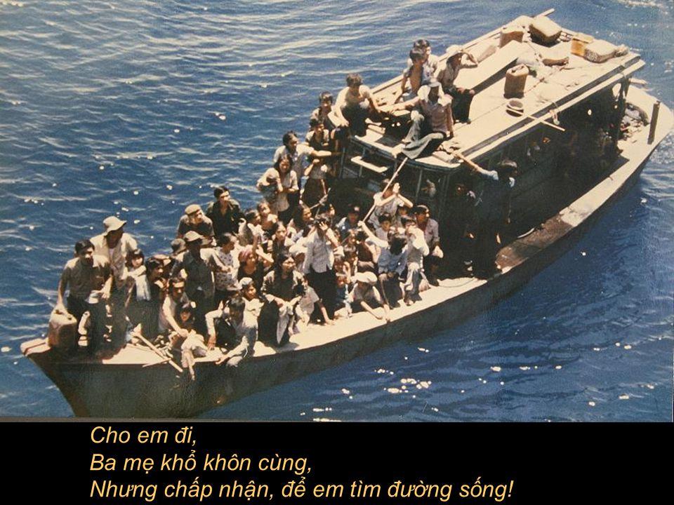 Thuyền tách bờ, Bóng mẹ gục ven sông!